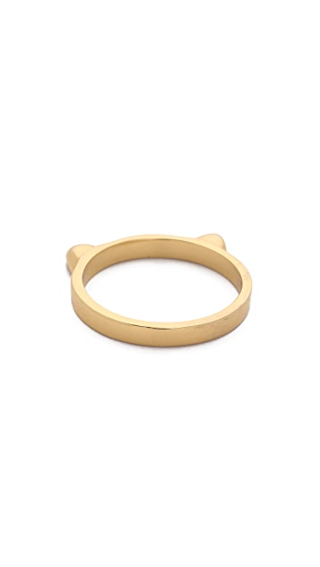 Kate Spade New York Out Of The Bag Cat Ears Ring