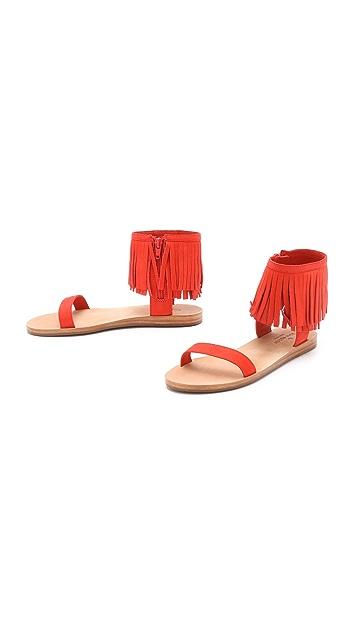 Kate Spade New York Alex Fringe Sandals
