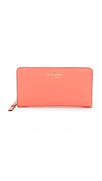 Kate Spade New York Lacy Zip Around Wallet