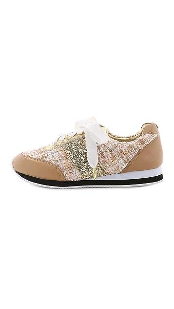 Kate Spade New York Sidney Tweed Jogging Sneakers