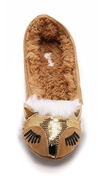 Kate Spade New York Salena Fox Slippers