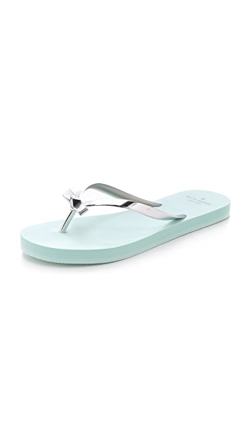 Kate Spade New York Happily Imprint Flip Flops