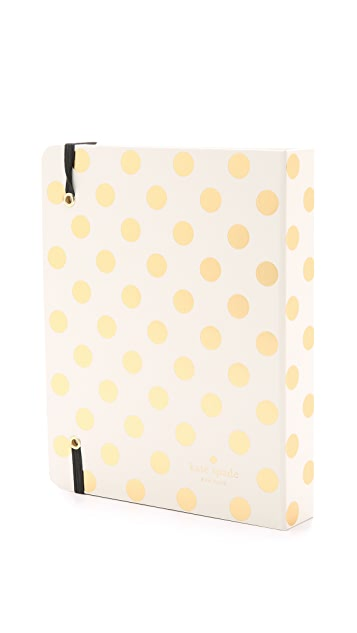 Kate Spade New York Dots Medium 17 Month Spriral Agenda