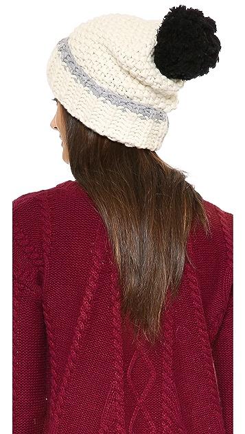 Kate Spade New York Chunky Stitch Cuff Hat