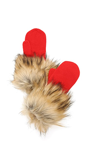 Kate Spade New York Woodland Critters Mittens