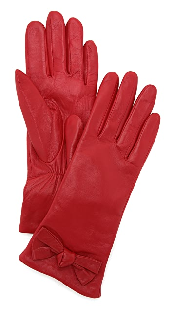 Kate Spade New York Bon Bon Bow Short Gloves