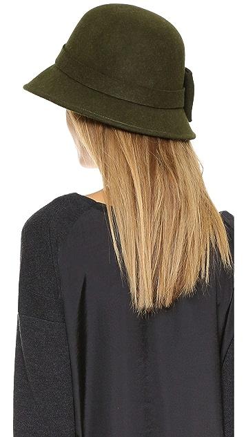 Kate Spade New York Wool Felt Bow Hat