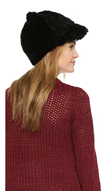 Kate Spade New York Faux Fur Ear Cap