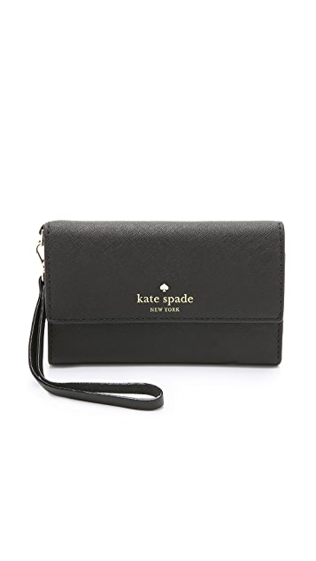 kate spade iphone wristlet kate spade new york cedar iphone 6 6s 2476