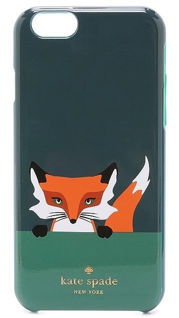Kate Spade New York Novelty Fox iPhone 6 / 6s Case