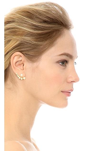 Kate Spade New York Dainty Sparkler Ear Jackets