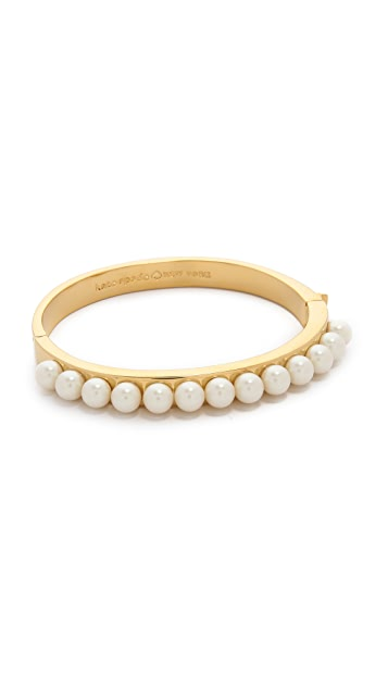Kate Spade New York Pearly Delight Bangle Bracelet