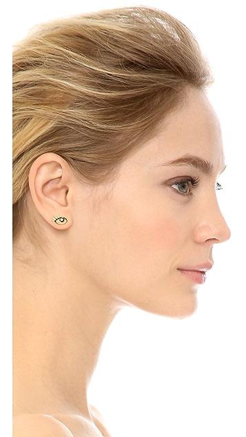 Kate Spade New York Eye Stud Earrings
