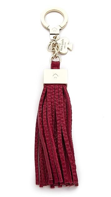 Kate Spade New York Брелок для ключей с кисточкой
