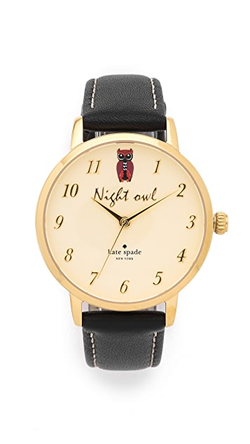 Kate Spade New York Metro Night Owl Watch