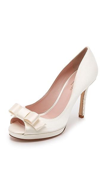 Kate Spade New York Felisha Peep Toe Pumps