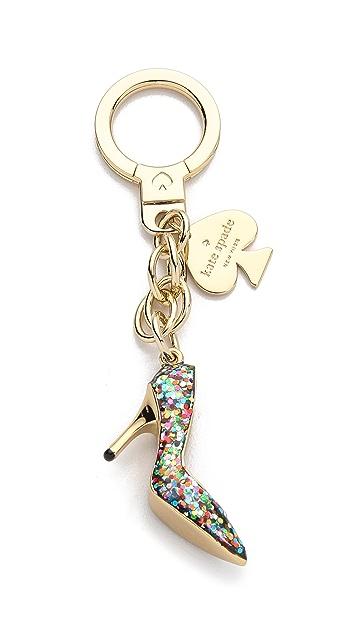 Kate Spade New York Glitter Shoe Keychain