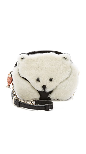Kate Spade New York Polar Bear Cross Body Bag
