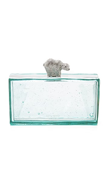 Kate Spade New York Polar Bear Clutch