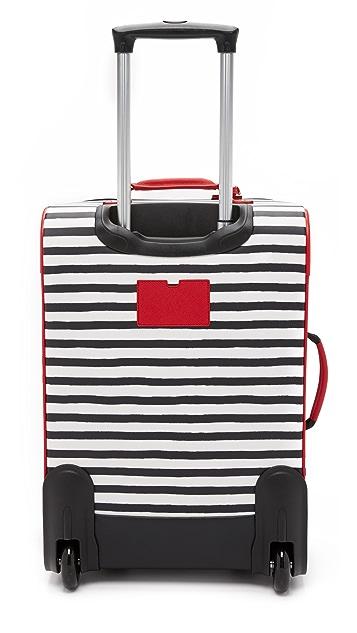 Kate Spade New York Striped International Carry On