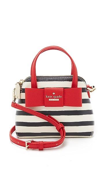 Kate Spade New York Striped Mini Maise Cross Body Bag