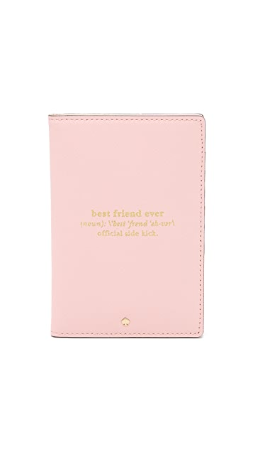 Kate Spade New York Wedding Belles Travel Passport Holder