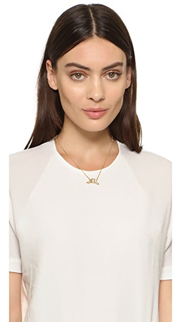 Kate Spade New York Cold Comforts Mini Pendant Necklace
