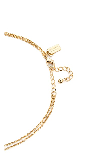Kate Spade New York Dainty Sparklers Double Strand Necklace