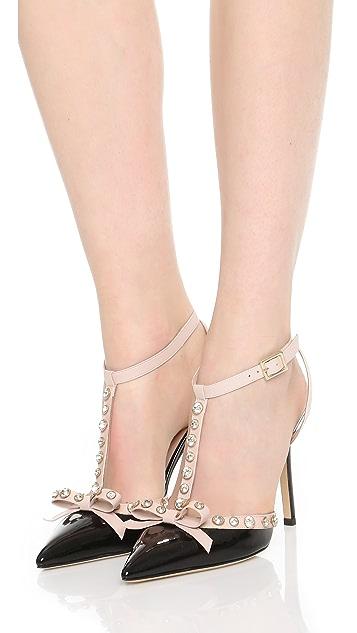 Kate Spade New York Туфли-лодочки Lydia с украшениями