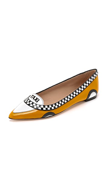 be4dc7295bd8 Kate Spade New York Go Taxi Flats