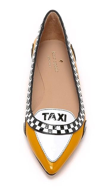 Kate Spade New York Go Taxi Flats