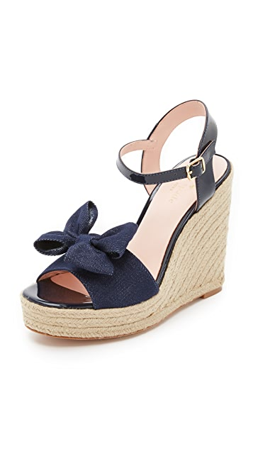 Kate Spade New York Woven Slingback Wedges shipping discount sale outlet big sale great deals online buy cheap 100% guaranteed wzXnUI