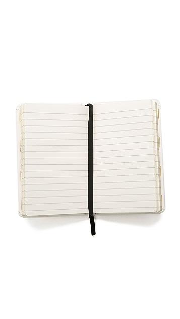 Kate Spade New York Little White Lies Medium Notebook