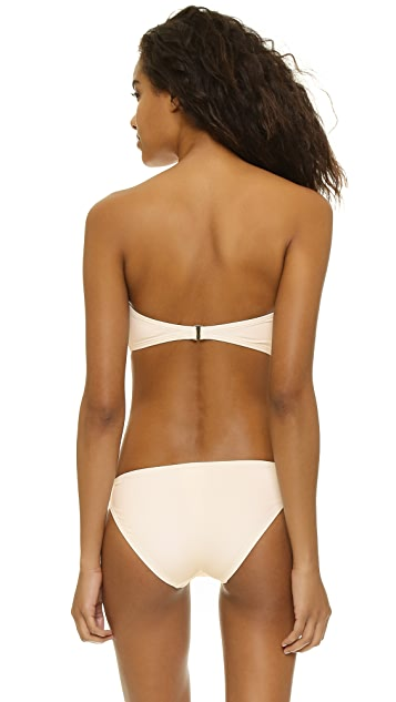 Kate Spade New York Georgica Beach Bow Bandeau Bikini Top
