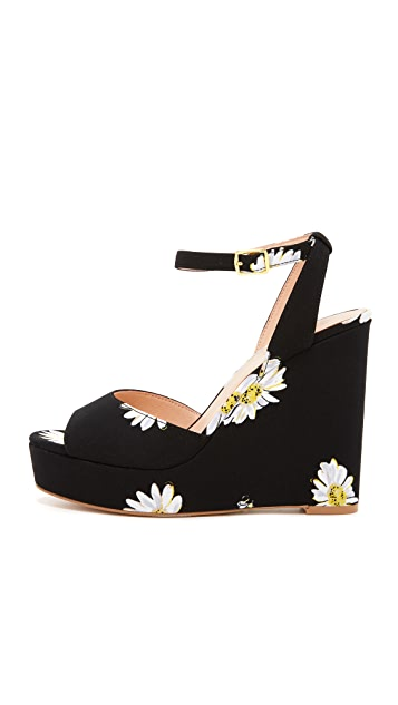 Kate Spade New York Dellie Wedge Sandals