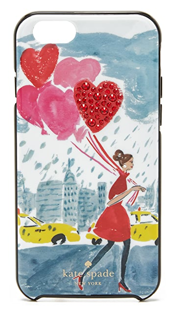 Kate Spade New York Jeweled Balloon Girl iPhone 6 / 6s Case