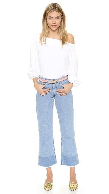 Kate Spade New York Thin Stripe Belt