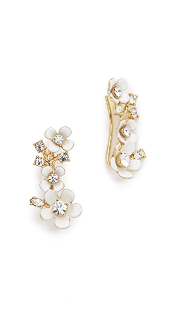Kate Spade New York Pretty Petals Ear Pin Earrings