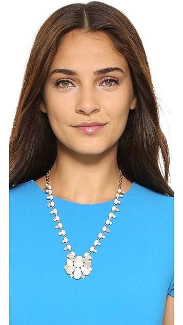 Kate Spade New York Seastone 光泽个性坠饰项链