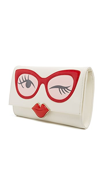 Kate Spade New York Frames Clutch