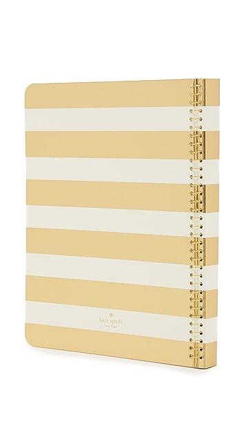 Kate Spade New York Concealed Spiral Notebook