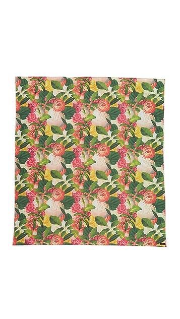 Kate Spade New York Покрывало для пикника с цветочным принтом