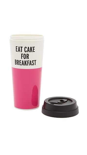 Kate Spade New York Eat Cake For Breakfast Thermal Mug