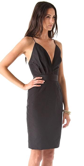 Katie Ermilio Draped 2 in 1 Dress