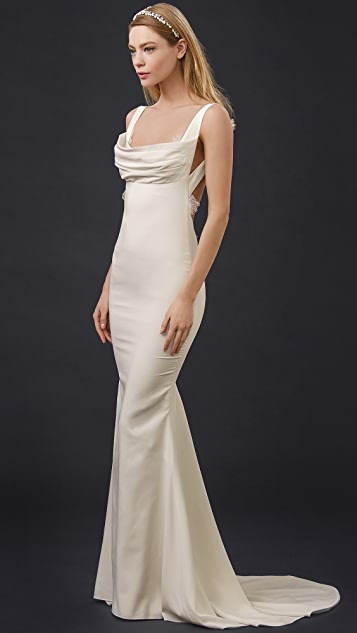 Katie May Barcelona Low Back Gown