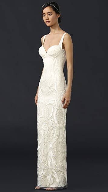 Katie May Geneva Gown with Removable Train