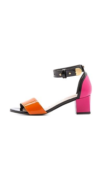Kat Maconie London Phoebe Patent Sandals