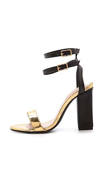 Kat Maconie London Ruth Double Ankle Strap Sandals