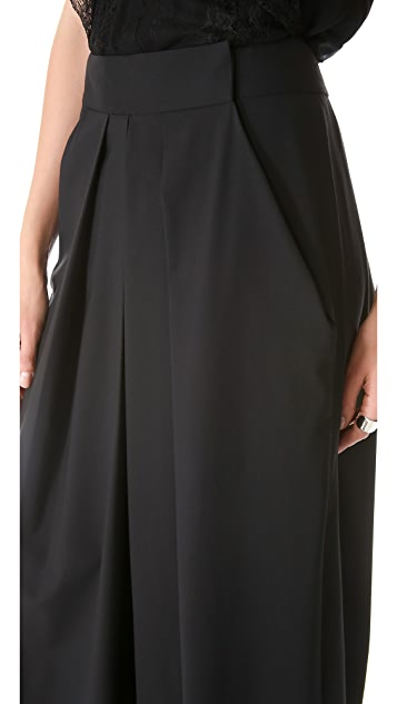 KAUFMANFRANCO Super Wide Leg Pants