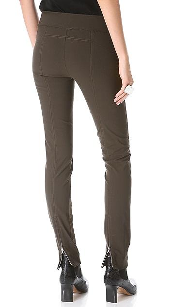 KAUFMANFRANCO Leather & Wool Pants
